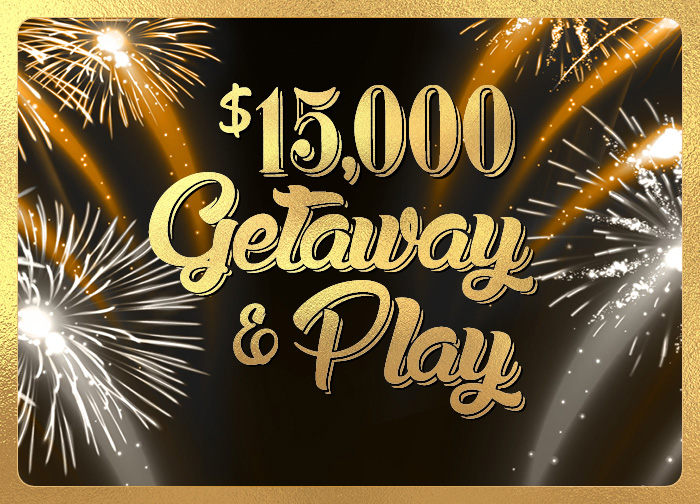 December 2020 15K Getaway and Play Slot Tournament