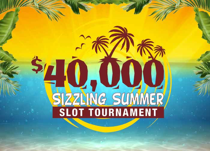 June 2021 40K Sizzling Summer Slot Tournament