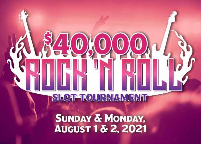 40K Rock N' Roll Slot Tournament