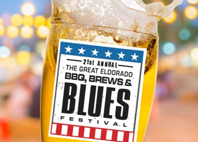 BBQ, BREWS AND BLUES FESTIVAL ELDORADO