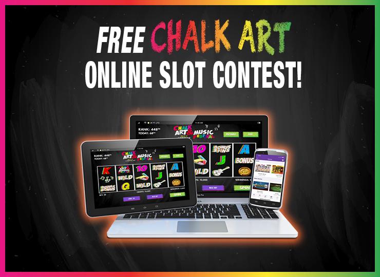 Atlantis Chalk Art Online Slot Contest