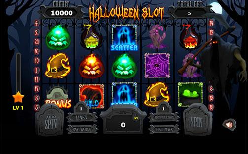 Halloween Slot Contest
