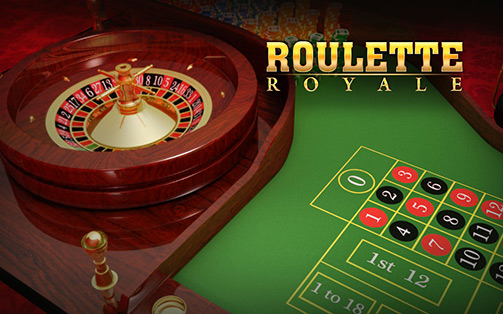 Roulette Royale Logo with Roulette Table