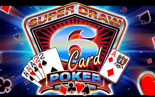 Super Draw 6 Card Poker
