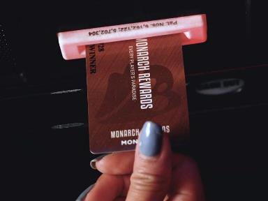 Monarch Rewards membership cards