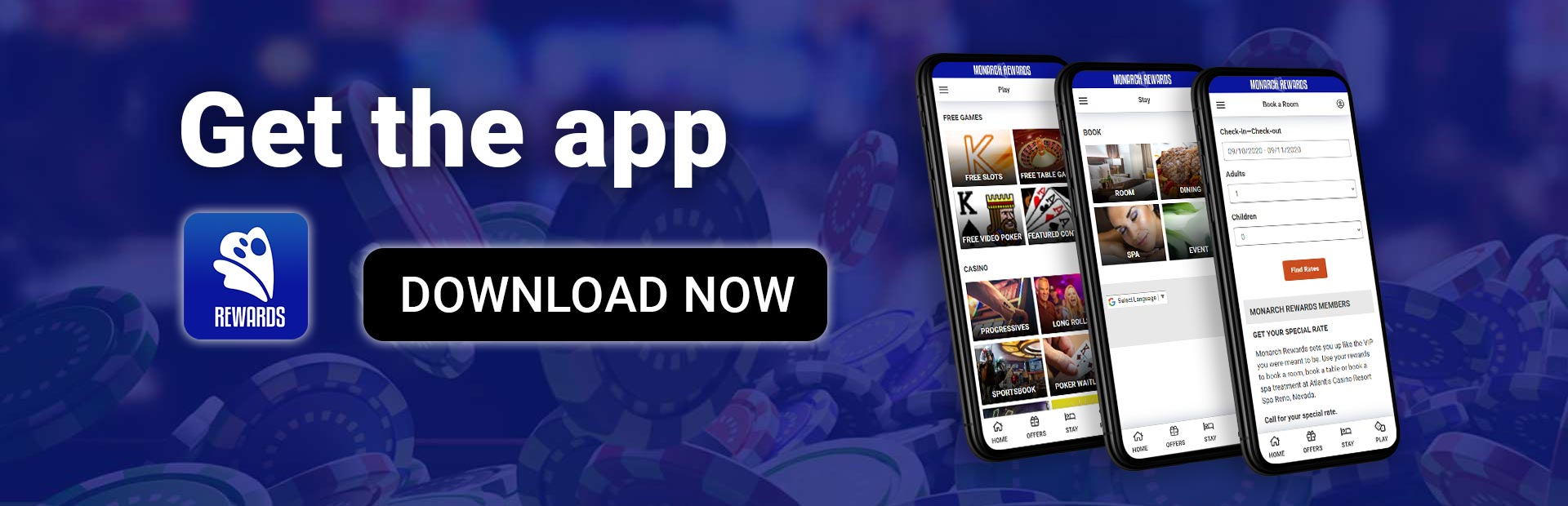 Get the monarch rewards app - download now