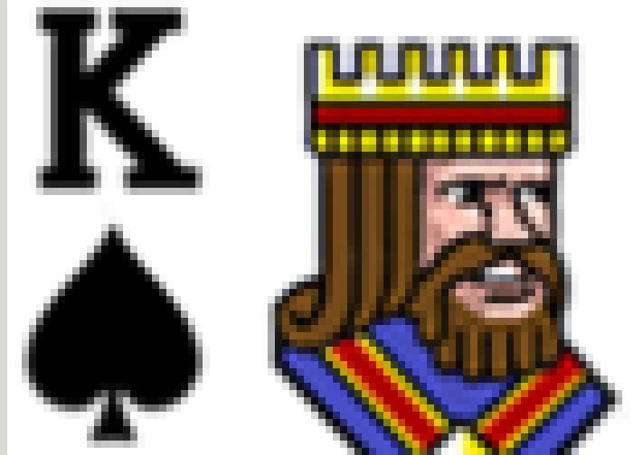 Video Poker King of spades