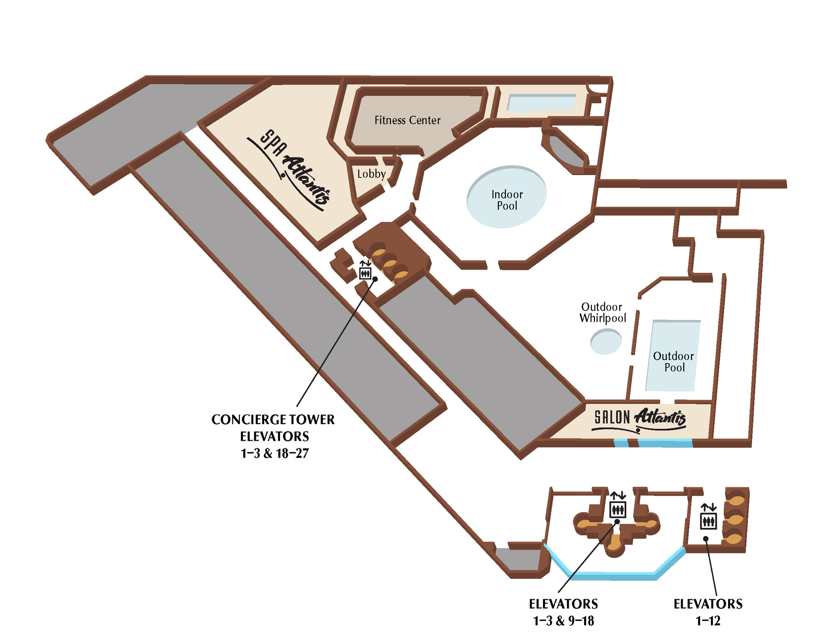 Atlantis third floor plan
